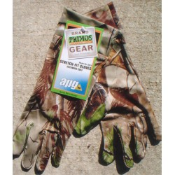 Primos Stretch Fit Gloves Realtree APG HD