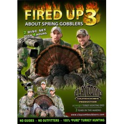 Fired Up 3 About Spring Gobblers DVD