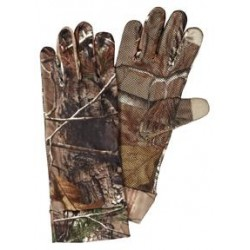 Scent-A-Way® Silver Spandex Unlined Tech Tip Gloves  - Realtree® Xtra™