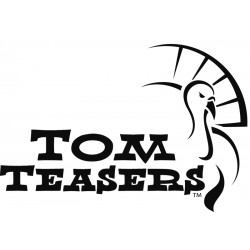 Tom Teasers Logo Decal