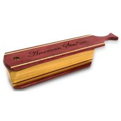American Strutter Purpleheart & Poplar Box Call