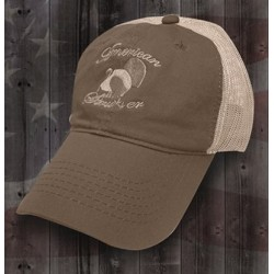 American Strutter Olive with Tan Mesh Hat