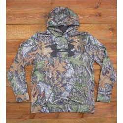 Under Armour Camo Big  Logo  Hoodie - Mossy Oak Obsession