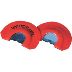 WoodHaven Toxic Orange Diaphragm Call