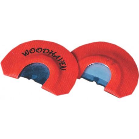 WoodHaven Toxic Orange Diaphragm Call