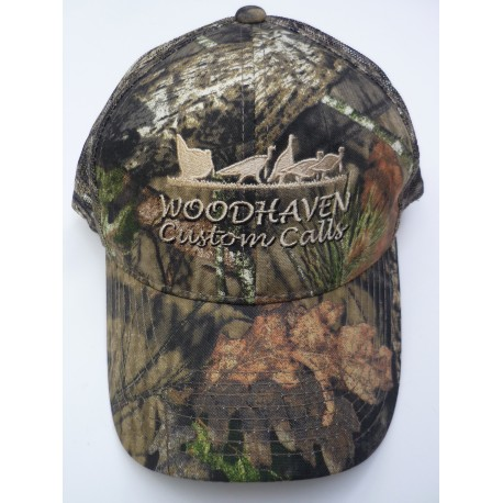 9aecd5ae341 WoodHaven Mossy Oak Camo Cap - Midwest Turkey Call Supply