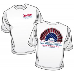 WoodHaven Short Sleeve Patriotic Logo T-Shirt