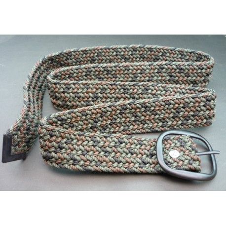 Sportsman's Camo Woven Belt