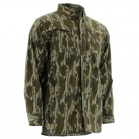 Nomad NWTF Long Sleeve Turkey Shirt - Mossy Oak Original Bottomland