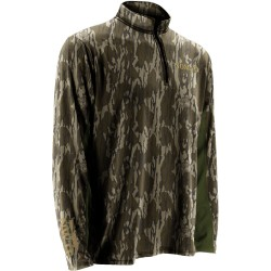 Nomad NWTF Long Sleeve 1/4 Zip - Mossy Oak Original Bottomland - Front