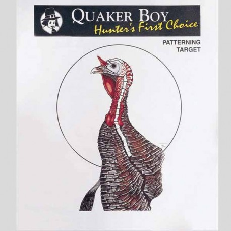 image about Printable Turkey Targets named Quaker Boy Significant Measurement Turkey Goals - 10 Pack - Midwest Turkey Get hold of Shipping and delivery