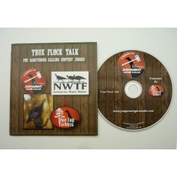 True Flock Talk For Sanctioned Calling Contest Judges CD by Tree Top Turkeys