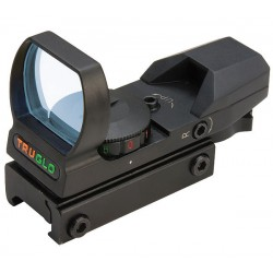 Multi-Reticle/Dual Color Open Red Dot Sight -Black