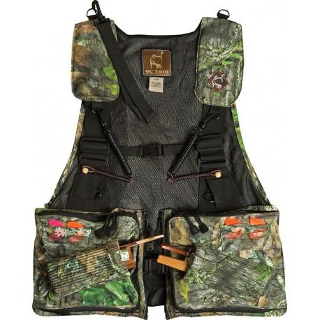 OL' TOM Time & Motion Strap Vest - Mossy Oak NWTF Obsession