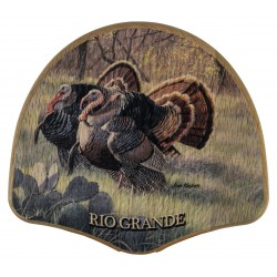 Oak Turkey Display Kit - Grand Slam Series - Rio Grande