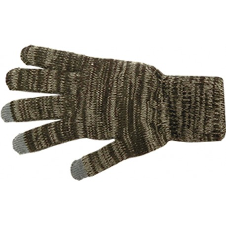 Camo Knit Glove withTexting Fingers
