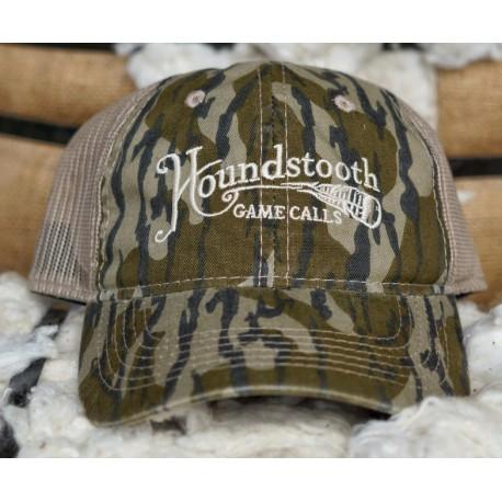 7983eb646dc Houndstooth Mossy Oak Bottomland Mesh Back Hat - Midwest Turkey ...