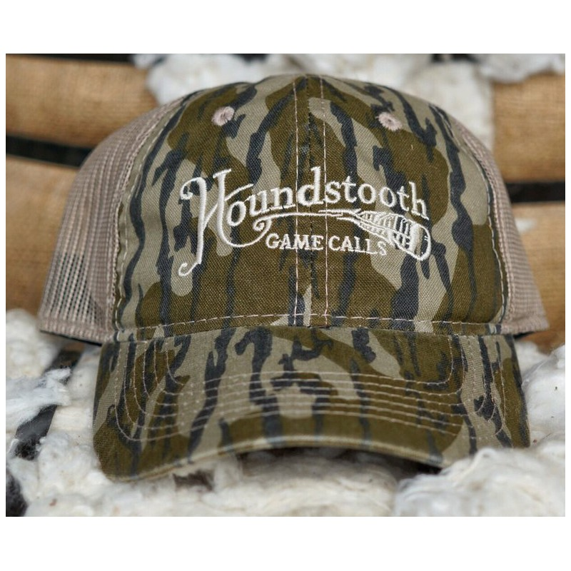 Houndstooth Mossy Oak Bottomland Mesh Back Hat - Midwest Turkey ... 92f671ef894