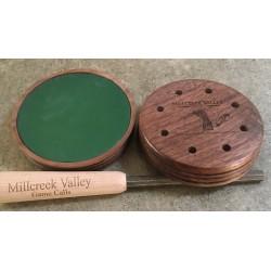Millcreek Walnut Green Anodized Aluminum