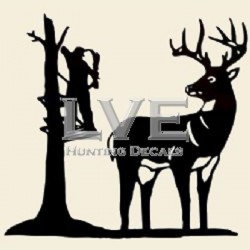 Stand Hunter Decal