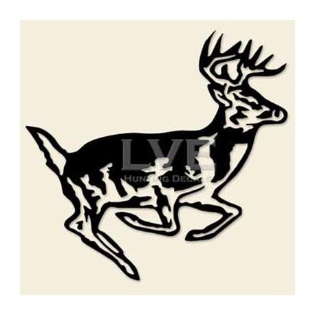 Runnin' Buck Decal