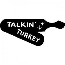 Talkin' Turkey Box Decal