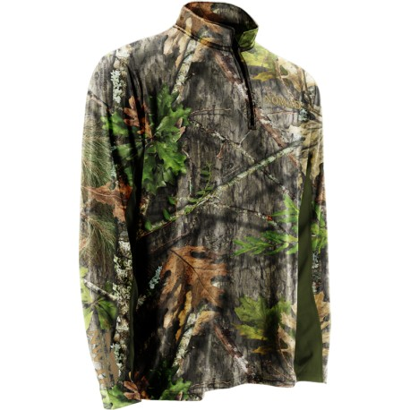 Nomad NWTF Long Sleeve 1/4 Zip - NWTF Obsession - Front