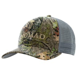 Nomad Logo Mesh Back Camo Trucker - Mossy Oak NWTF Obsession