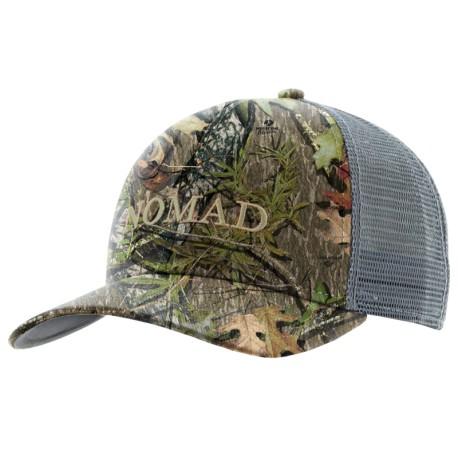 Nomad Logo Mesh Back Camo Trucker - Mossy Oak NWTF Obsession