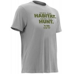 Nomad 'Save The Habitat' S/S TShirt - Grey
