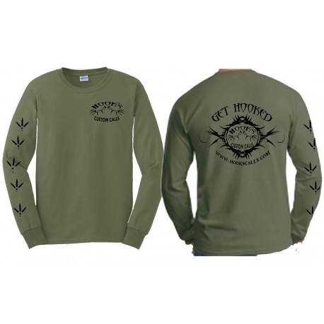 Hook's Long Sleeve Logo T-Shirt