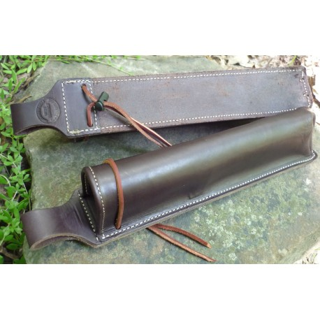 8-Hooter  Saddle Leather Long Box Holster