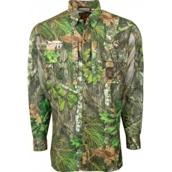 OL' TOM Dura Lite Mesh Back Shirt-Mossy Oak NWTF Obsession