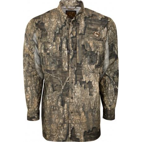 71d870dc9ac4f OL Tom Mesh Back Shirt - Realtree Timber - Midwest Turkey Call Supply