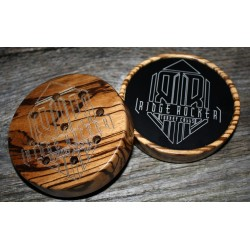 Ridge Rocker Zebrawood Anodized Aluminum Call