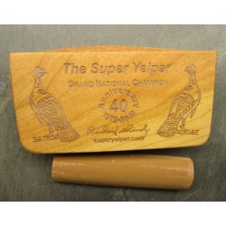 Super Yelper 40th Anniversary Signature Series Cherry Scratch Box