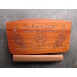 Super Yelper 40th Anniversary Signature Series Cedar Scratch Box