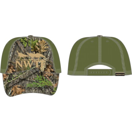 b86e4a771 Nomad NWTF Obsession Low Country Mesh Back Trucker Cap - Midwest Turkey  Call Supply