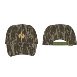 Nomad Low Country Solid Back Cap - Mossy Oak Bottomland 6ad11000e664