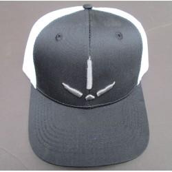 Nomad Turkey Track Trucker Cap -Dark Gray & White