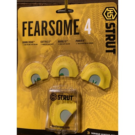 Fearsome 4 Diaphragm 4-pack