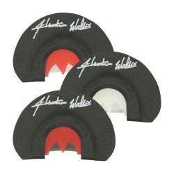 Rolling Thunder Hunter Wallis Signature Collection Mouth Call 3- Pack