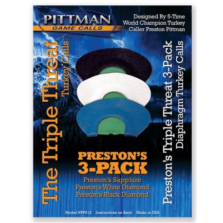 Pittman Triple Threat Combo Pack