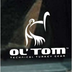 Ol' Tom Logo Window Decal