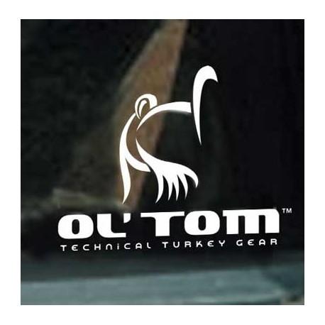 Ol' Tom Logo Window Decal