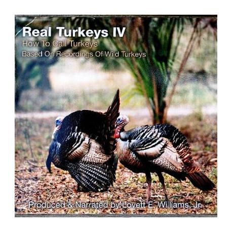 Real Turkeys IV CD - How to Call Turkeys