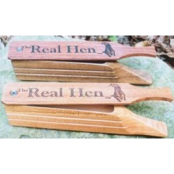 'Real Hen' Cherry Box Call by WoodHaven
