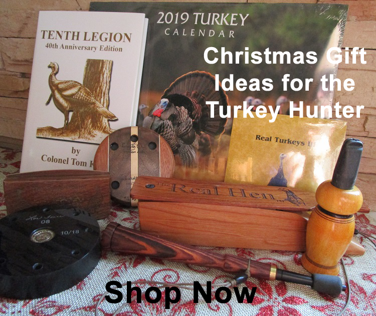 Christmas Gift Ideas for the Turkey Hunter