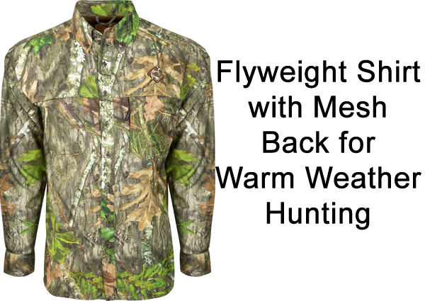 Warm Weather Hunting Shirts
