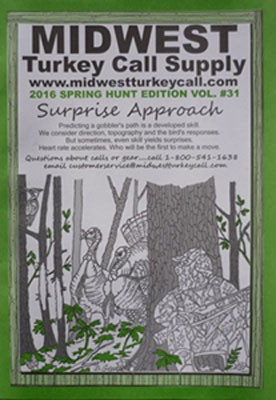 2016 MIDWEST Turkey Call Supply Catalog